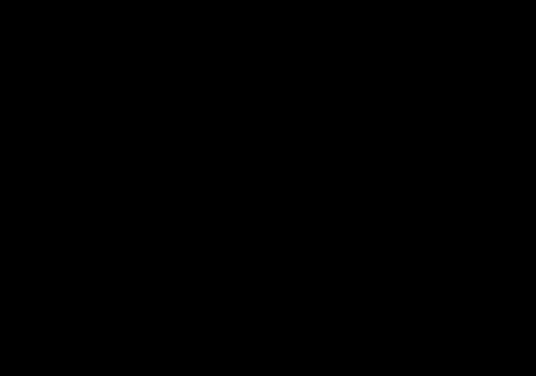 Bild im Stil eines Scherenschnitt. Es zeigt einen Raben mit gesenktem Kopf.